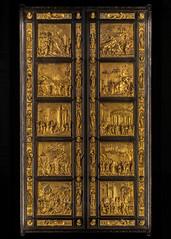 Gates of Paradise (Robert Wash) Tags: italy italia tuscany toscana florence firenze museodelloperadelduomo operadelduomo baptisteryofsaintjohn baptisteryofsangiovanni gatesofparadise sculpture art lorenzoghiberti ghiberti