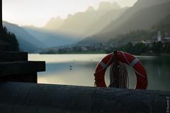 Auronzo di Cadore (erwannf) Tags: architecture contrasteélevé eau lac noir auronzodicadore vénétie italie dolomites