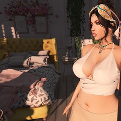 Ready to go ✨ (logan.fourniersl) Tags: secondlife rp roleplay virtual avatar slavi sl mesh bento shopping pixelart digitalart cleavage sexy woman beach dustbunny belleza catwa
