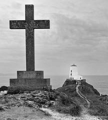Llanddwyn Island Lighthhouse (KGB-1965) Tags: anglesey lighthouse llanddwynisland eos80d blackandwhite silverefexpro2