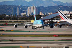 Korean Air Airbus A380-841 (Mark Harris photography) Tags: spotting lax la canon 5d plane aviation
