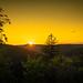 Sunset near Bad Laasphe