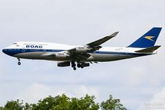 G-BYGC British Airways B747-400, EGLL, UK (Sebastian Viinikainen.) Tags: gbygc boac retro speciallivery b747400 egll londonheathrow