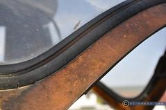 Niederösterreich Weinviertel Rückersdorf_DSC0977 (reinhard_srb) Tags: david brown niederösterreich weinviertel rückersdorf traktor landwirtschaft arbeitsgerät maschine windschutz detail schwung rahmen rost