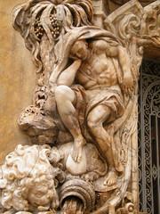 Escultura de un Atlante en el Palacio del Marques de Dos Aguas (dorieo21) Tags: atlante sculpture escultura alabastro rococó churrigueresco rococo alabaster albâtre
