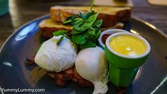 Farmhouse Kedron Farmhouse breakfast (garydlum) Tags: bacon eggs hollandaisesauce poachedeggs sourdough brisbane queensland australia