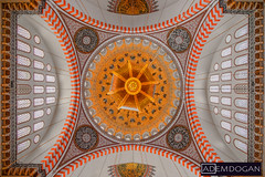 ISTANBUL (01dgn) Tags: süleymaniye istanbul interior mosque moschee türkei turkey travel colors europe avrupa europa süleymaniyecamii camii canoneos77d