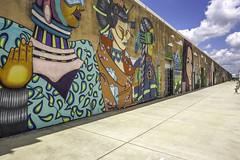 Art Wall Houston (Mabry Campbell) Tags: 6thward artwallhou harriscounty houston sixthward texas usa colorful image painting photo photograph wall wallart f63 mabrycampbell june 2019 june42019 20190604houstoncampbellh6a9419 24mm ¹⁄₃₂₀sec 100 tse24mmf35lii