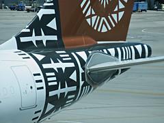 Fiji A330-243 DQ-FJT (kenjet) Tags: dq fj fiji fijiairways airbus sf sfo ksfo sanfranciscointernationalairport arriving arrival plane jet flugzeug airline airliner aviation 332 330 a330 a330200 a330243 dqfjt islandoftaveuni tail logo art