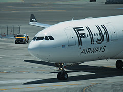 Fiji A330-243 DQ-FJT (kenjet) Tags: dq fj fiji fijiairways airbus sf sfo ksfo sanfranciscointernationalairport arriving arrival plane jet flugzeug airline airliner aviation 332 330 a330 a330200 a330243 dqfjt islandoftaveuni nose