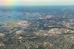 Boston From Above (GlobalGoebel) Tags: iphone iphoneography iphonex iphone10 boston aerial logan international airport approach