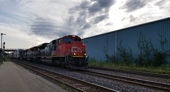 CN 8009b (Trains By Perry) Tags: canadiannational cn brockville bcrail