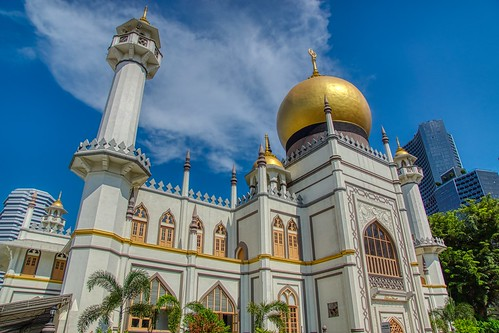 Sultan Mosque in Arab Street area in Singapore