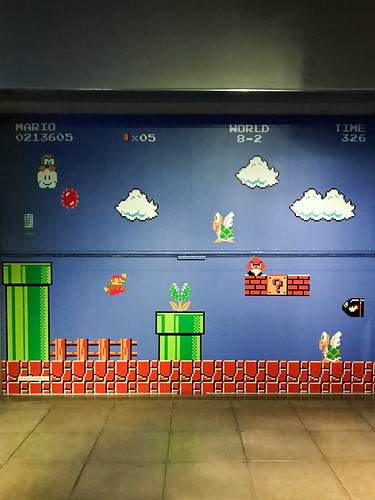 MoPOP: Super Mario Wall