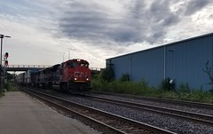 CN 8009a (Trains By Perry) Tags: canadiannational cn brockville bcrail