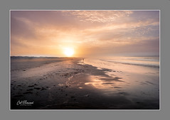 Endless Summer IV (windshadow2) Tags: summer color sunrise fujifilm xt1 fuji beach fog coast sea ocean waves seascape sand light reflection people coastal