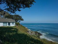 last summer (peaceblaster9) Tags: sea ocean coast shore sky summer ricohgr gr2 海 空 海岸 夏 青 ブルー blue wave 波