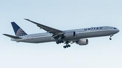 N2341U (gankp) Tags: boeing washingtondullesinternationalairport arrivals dulles n2341u 777322er sanfranciscosfo boeing777