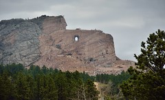 Taking in the Crazy Horse Memorial for the First Time