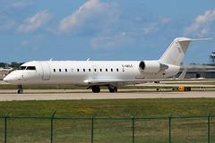 Air Canada Express CRJ at Cleveland (chrisjake1) Tags: cle kcle cleveland hopkins airgeorgian aircanadaexpress cgklc crj crj200 cjr2 bombardier canadair georgian