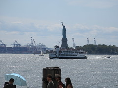 2019 Statue of Liberty with Sail Boat Battery Park 7461 (Brechtbug) Tags: 2019 statue liberty ellis island view from battery park lower manhattan new york city winter 08102019 nyc 30 rock cityscape south skyline urban snow covered afternoon august summer summertime sculpture lighthouse french gift france building art arts birthday lady eiffel frederic auguste bartholdi
