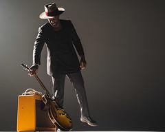 Abraham Alexander Portrait (dyl.n) Tags: musician backlit concert music video electric guitar minimal white background silhouette fort worth texas dallas leon bridges abraham alexander black portrait studio