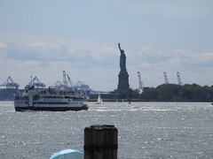2019 Statue of Liberty with Sail Boat Battery Park 7465 (Brechtbug) Tags: 2019 statue liberty ellis island view from battery park lower manhattan new york city winter 08102019 nyc 30 rock cityscape south skyline urban snow covered afternoon august summer summertime sculpture lighthouse french gift france building art arts birthday lady eiffel frederic auguste bartholdi