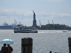 2019 Statue of Liberty with Sail Boat Battery Park 7463 (Brechtbug) Tags: 2019 statue liberty ellis island view from battery park lower manhattan new york city winter 08102019 nyc 30 rock cityscape south skyline urban snow covered afternoon august summer summertime sculpture lighthouse french gift france building art arts birthday lady eiffel frederic auguste bartholdi