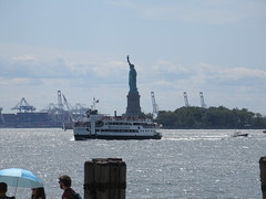 2019 Statue of Liberty with Sail Boat Battery Park 7462 (Brechtbug) Tags: 2019 statue liberty ellis island view from battery park lower manhattan new york city winter 08102019 nyc 30 rock cityscape south skyline urban snow covered afternoon august summer summertime sculpture lighthouse french gift france building art arts birthday lady eiffel frederic auguste bartholdi