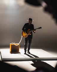 BTS Portrait Abraham Alexander (dyl.n) Tags: musician backlit concert music video electric guitar minimal white background silhouette fort worth texas dallas leon bridges abraham alexander black portrait studio