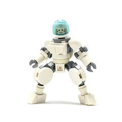 LEGO Actionfig 2.0 (new arms + legs) (Alex Kelley) Tags: minifigs minifig minifigure minifigures product 3d custom figure action modular character design toy afol moc lego