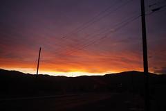 sunset, Clarkdale AZ (EllenJo) Tags: pentaxks1 2019 august10 sunset arizona verdevalley clarkdale arizonaskies