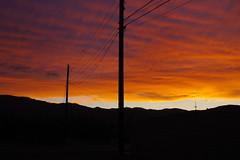 sunset, August 10 (EllenJo) Tags: pentaxks1 2019 august10 sunset arizona verdevalley clarkdale arizonaskies