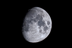 Moon over Austin (Jeremy Royall) Tags: moon lunar luna tsuki austin tx texas meade lx200 sony a7iii telescope