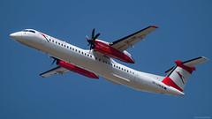 OE-LGM / De Havilland Canada DHC-8.400 Dash 8 / Austrian Airlines (PBe1958) Tags: airplane aircraft aeroplane transportation airliner aero vie aua austrianairlines lietadlo wienschwechatviennainternational dehavillandcanada propliner dh8d dhc8400dash8