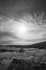 Sunlight_DSC4599 (H.Valez) Tags: paysage nature montagne plateau rocher ciel nuage noiretblanc noir blanc cévennes sun cloud light blackandwhite