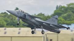 Enastående! (Martyn William's Aircraft) Tags: enastående grippen swedishairforce riat2019