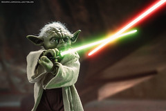 Hot Toys Attack of the Clones Yoda (dorklordcollectibles) Tags: hottoys actionfigure toy onesixth onesixthscale toyphotography sonya6000 a6000 yoda attackoftheclones starwars frankoz