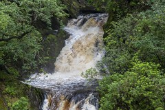 After the rain: Rhaeadrau Pontarfynach / The falls at Devils Bridge
