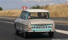 Citroën Ami 6 1966 (Wouter Bregman) Tags: cf679fw citroën ami 6 1966 citroënami6 citroënami ami6 e402 a28 normandie normandy france frankrijk vintage old classic french car auto automobile voiture ancienne française vehicle outdoor
