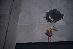 painting the world (Alexandre Dulaunoy) Tags: paintingtheworld graffiti streetart art mur wall girlpainting color colour