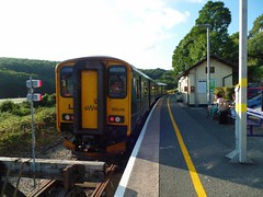 150248 Looe (8) (Marky7890) Tags: gwr 150248 class150 sprinter 2l92 looe railway cornwall looevalleyline train
