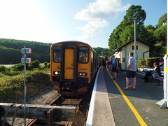 150248 Looe (7) (Marky7890) Tags: gwr 150248 class150 sprinter 2l91 looe railway cornwall looevalleyline train