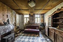 Un dimanche matin (maxmene70) Tags: urbex decay abandoned light dark house window television tripod canon sigma art architecture