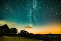 Stargazing (clemensgilles) Tags: longexposure nightphotography beautiful night germany deutschland eifel astrophotography estrellas nightsky etoiles stargazing milkyway voielactée nightspots astrofotographie milchstrase astrophotographers vialactéa aremberg