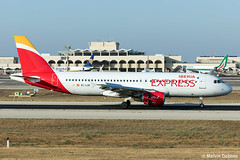 Iberia Express Airbus A320-214  |  EC-LUD  |  LMML (Melvin Debono) Tags: iberia express airbus a320214 | eclud lmml 1067 melvin debono spotting spotters spotter canon eos 5d mark iv 100400mm plane planes photography airport airplane aircraft aviation malta mla