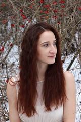 Winter fairy (nicoleschmidtova) Tags: winter portrait snow canon photography pain photoshoot czech czechrepublic czechgirl