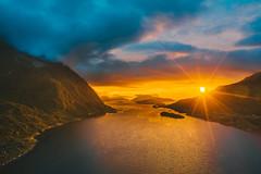 Sunset | Bremanger Municipality in Sogn og Fjordane county, Norway #213/365