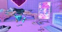N-U-M-B (Yusuf Armani) Tags: secondlife sl lindenlabs ll avatar virtual cute kawaii japan korea bed night blue pink love sweet pretty boy man romance romantic seductive seduce handsome beautiful lollipop
