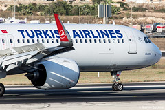 Turkish Airlines Airbus A321-271NX |  TC-LSE  |  LMML (Melvin Debono) Tags: turkish airlines airbus a321271nx | tclse lmml 8732 a321neo neo melvin debono spotting spotters spotter canon eos 5d mark iv 100400mm plane planes photography airport airplane aircraft aviation malta mla